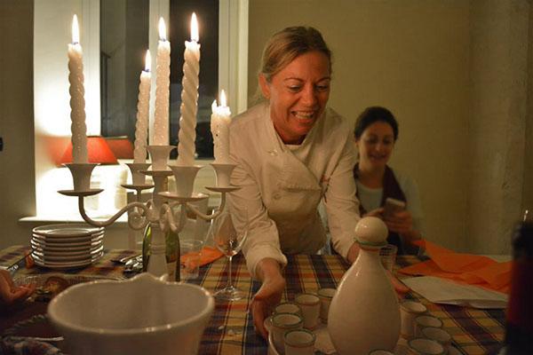 Class in Villa & Personal Chef